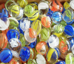 Cat-Eye Mix Glass Gems